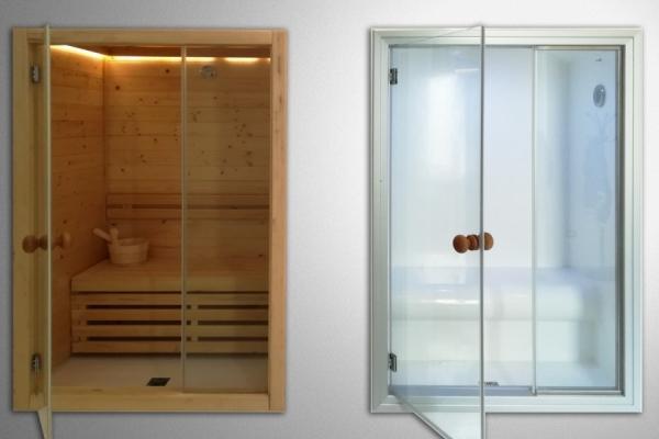 Sauna bagno turco design suomisauna - Effetti sauna e bagno turco ...