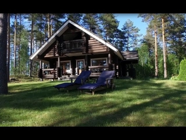 suomisauna Holiday cottage in Finland. Lake, sauna, boat